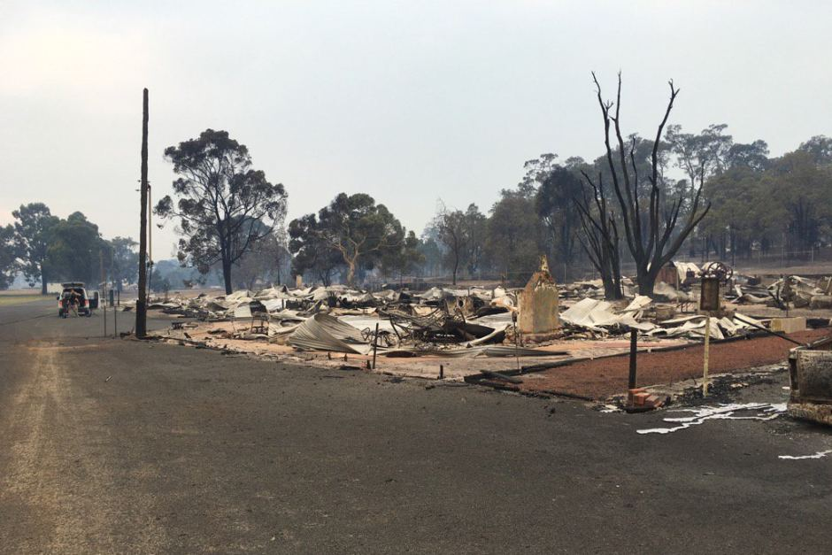 bushfire damage abc